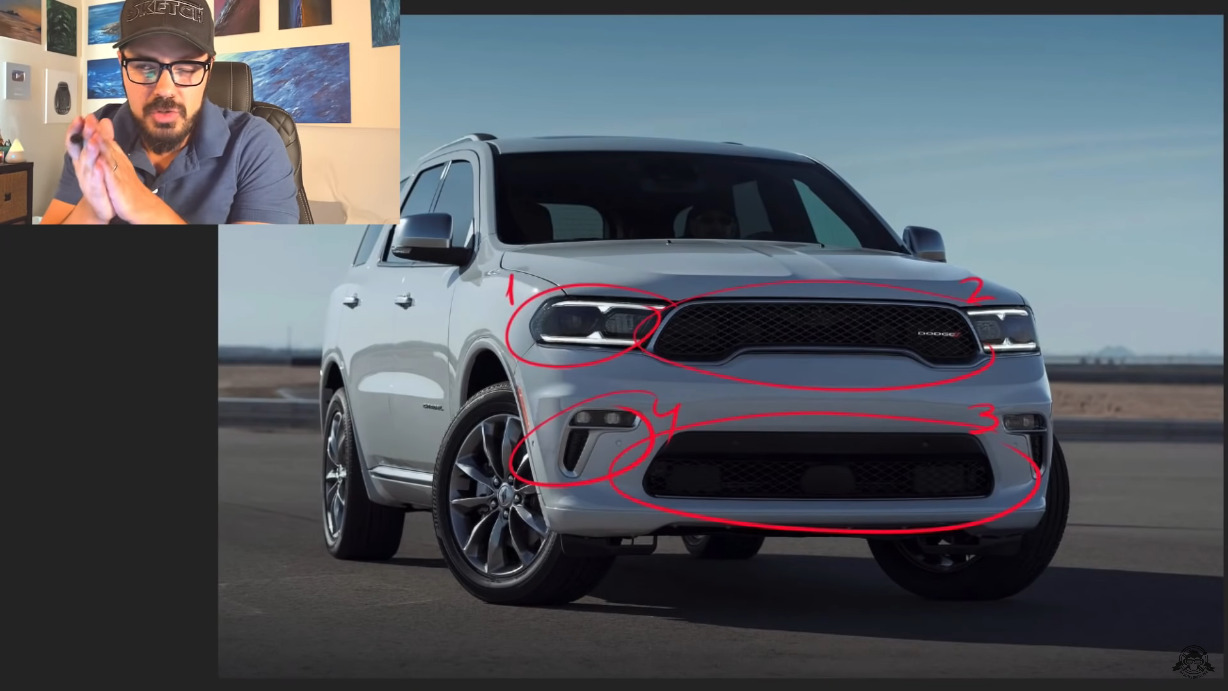 Dodge Durango SRT Hellcat TheSketchMonkey