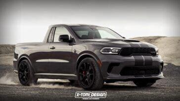 Dodge Durango SRT Hellcat pick-up render