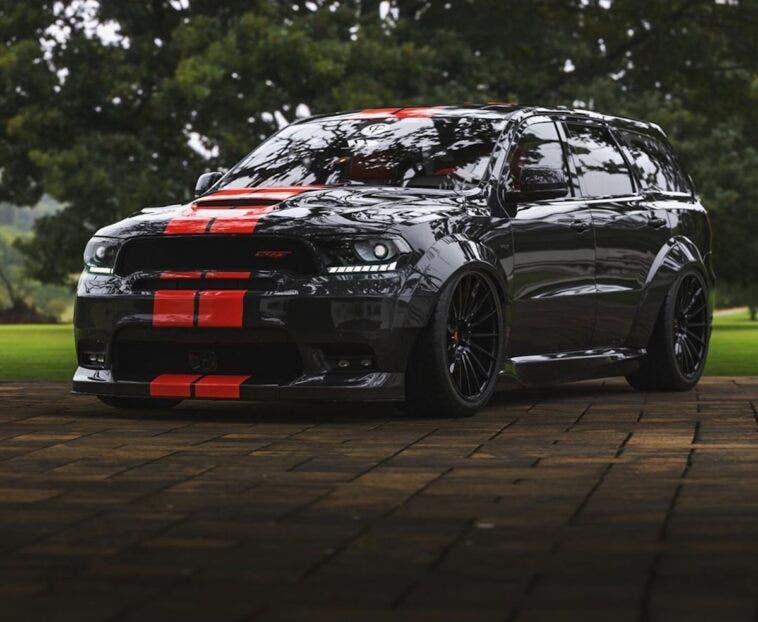 Dodge Durango body kit Diffsplitt