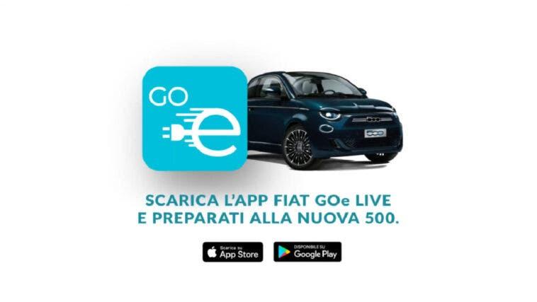 FIAT GOe LIVE app