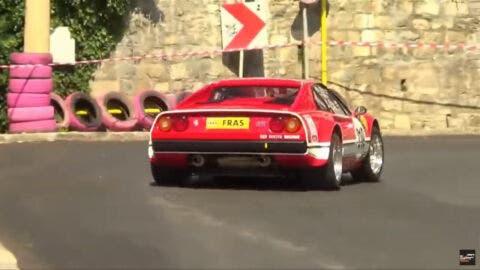 Ferrari 308 GTB Gruppo 4 hillclimb
