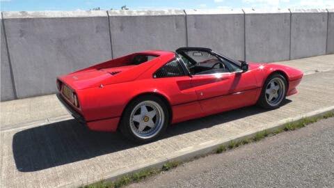 Ferrari 308 GTS motore Tesla