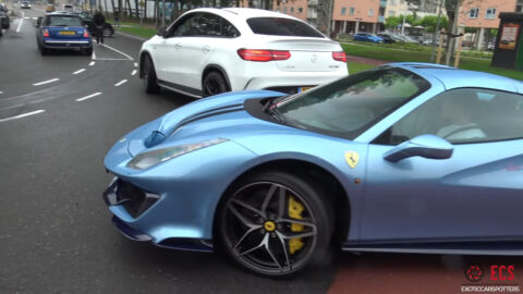 Ferrari 488 Pista eventi