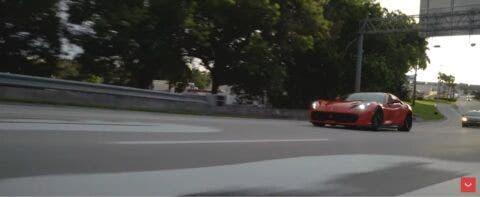 Ferrari 812 Superfast nuovi cerchi Vossen