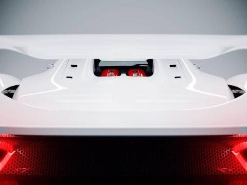 Ferrari F40 moderna render