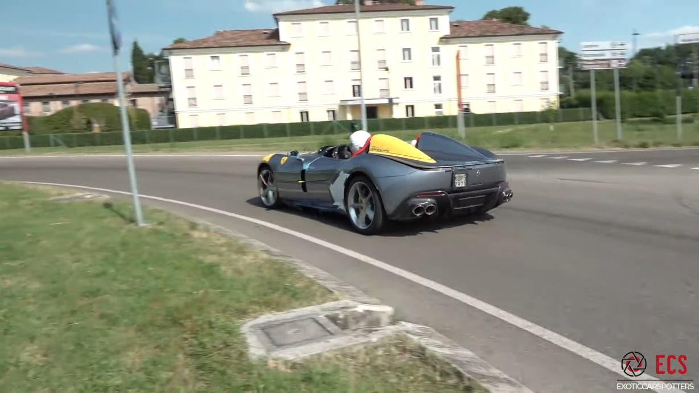 Ferrari Monza SP2 sei esemplari Maranello