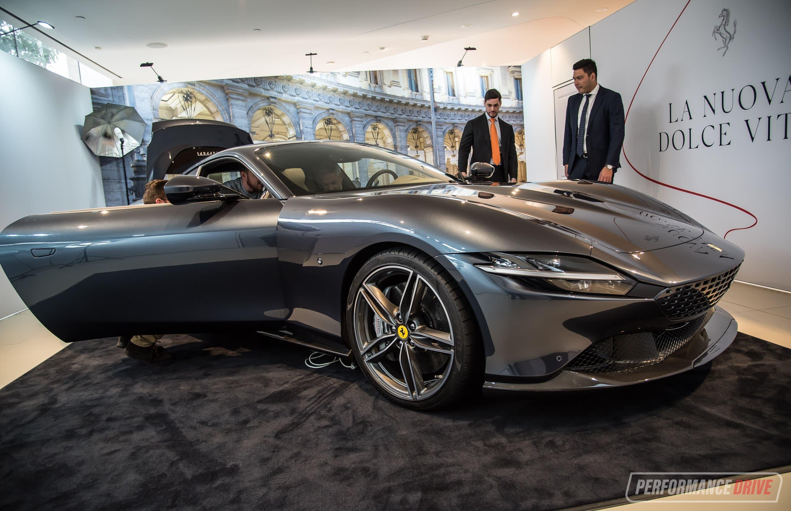 Ferrari Roma debutto Australia