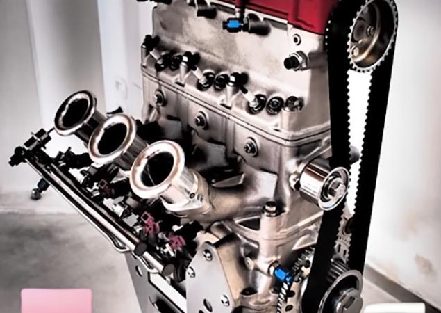 Ferrari motore a tre cilindri