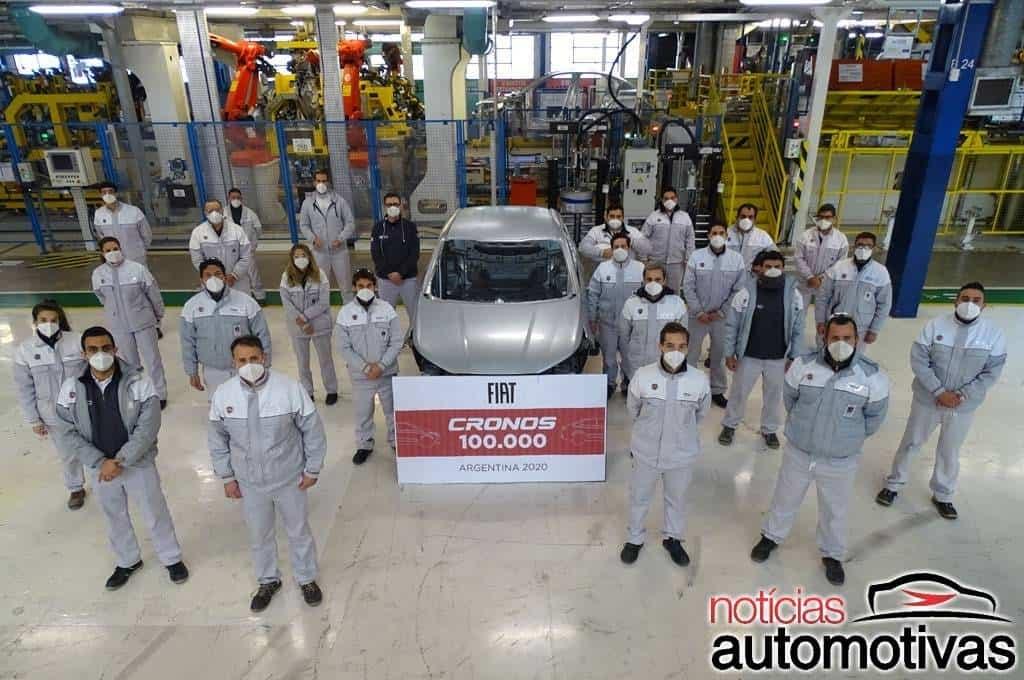 Fiat Cronos 100.000 unità Argentina
