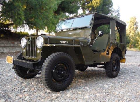 Jeep CJ 2A
