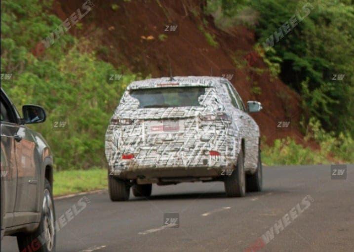 Jeep Compass 2021 prototipo India
