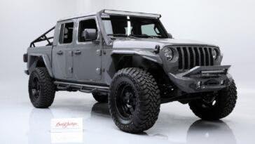 Jeep Gladiator custom asta