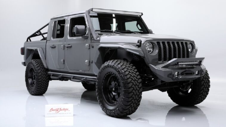 Jeep Gladiator custom asta