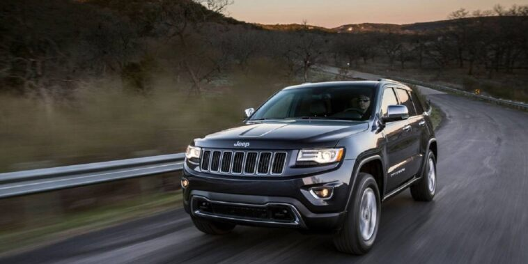 Jeep Grand Cherokee Armored