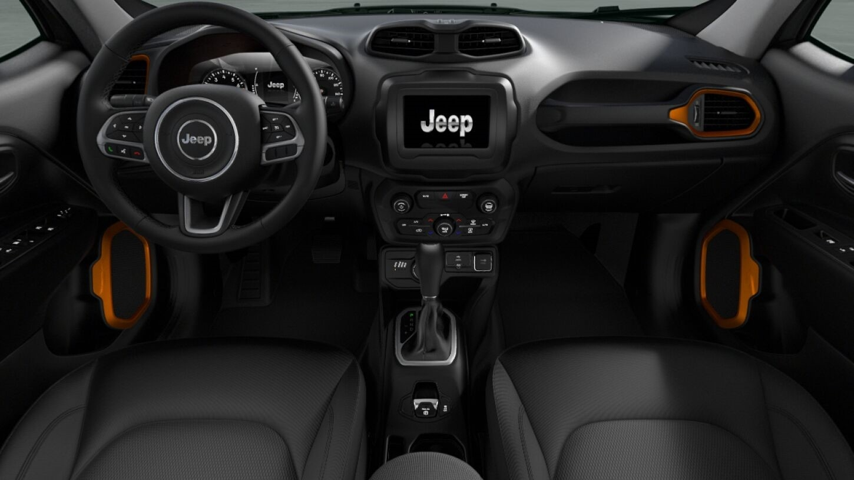 Jeep Renegade Orange Edition
