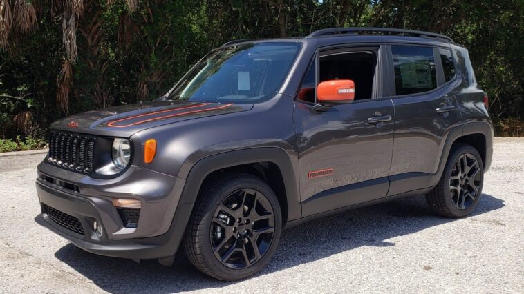 Jeep Renegade Orange Edition 2020 concessionarie