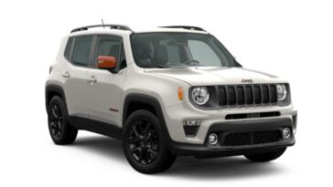 Jeep Renegade Orange Edition