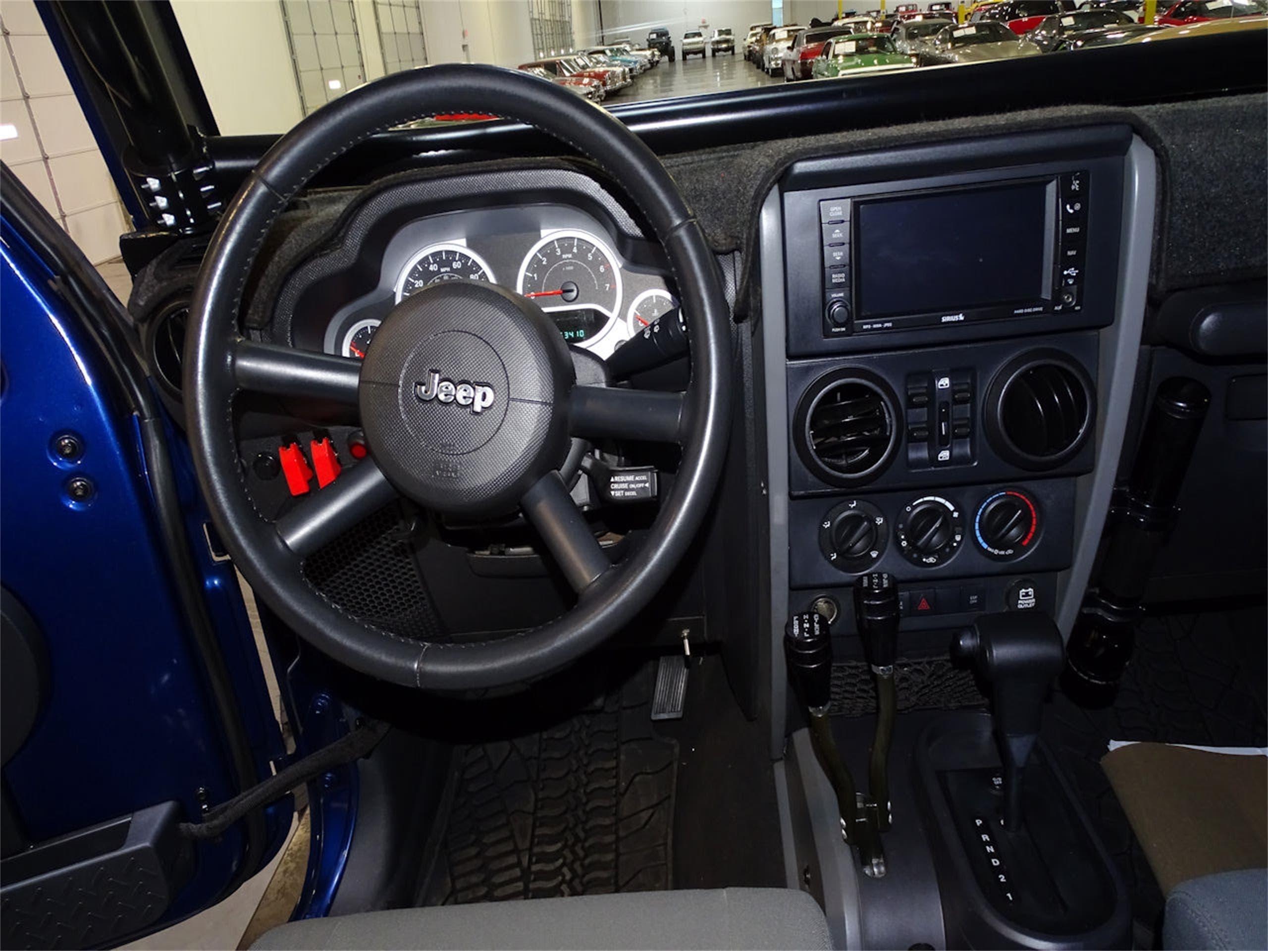 Jeep Wrangler 2009 motore Hemi V8