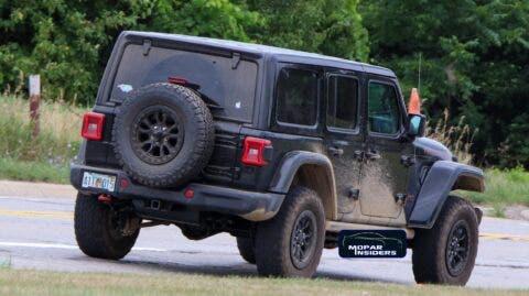Jeep Wrangler Rubicon 392 secondo prototipo foto spia