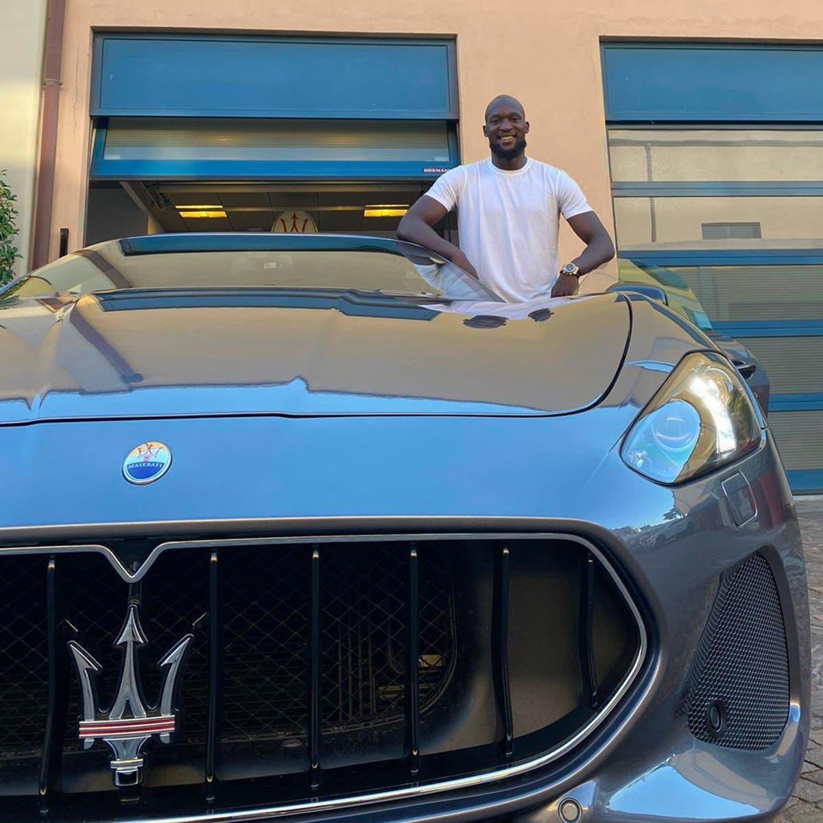 Maserati Ghibli Romelu Lukaku