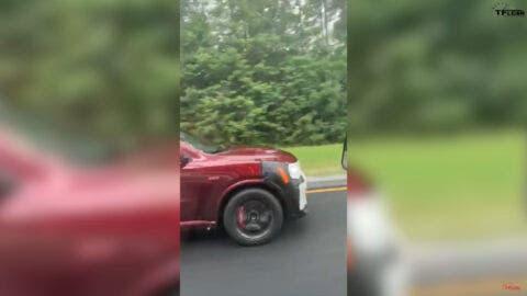Ram Rebel TRX e Dodge Durango SRT Hellcat foto spia