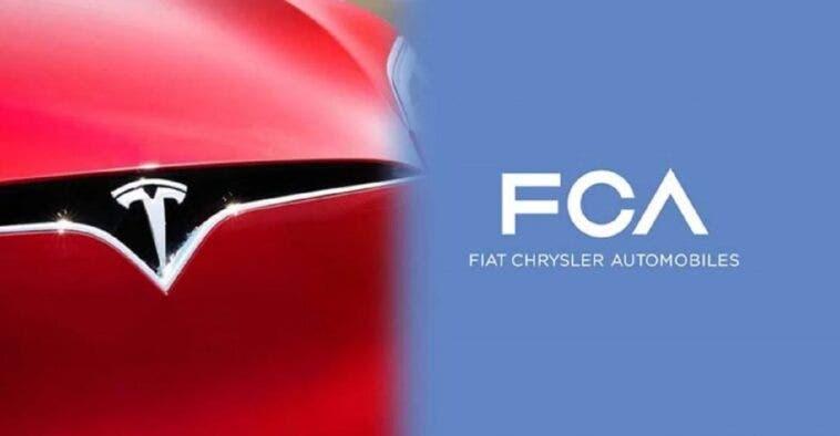 Tesla e Fiat Chrysler