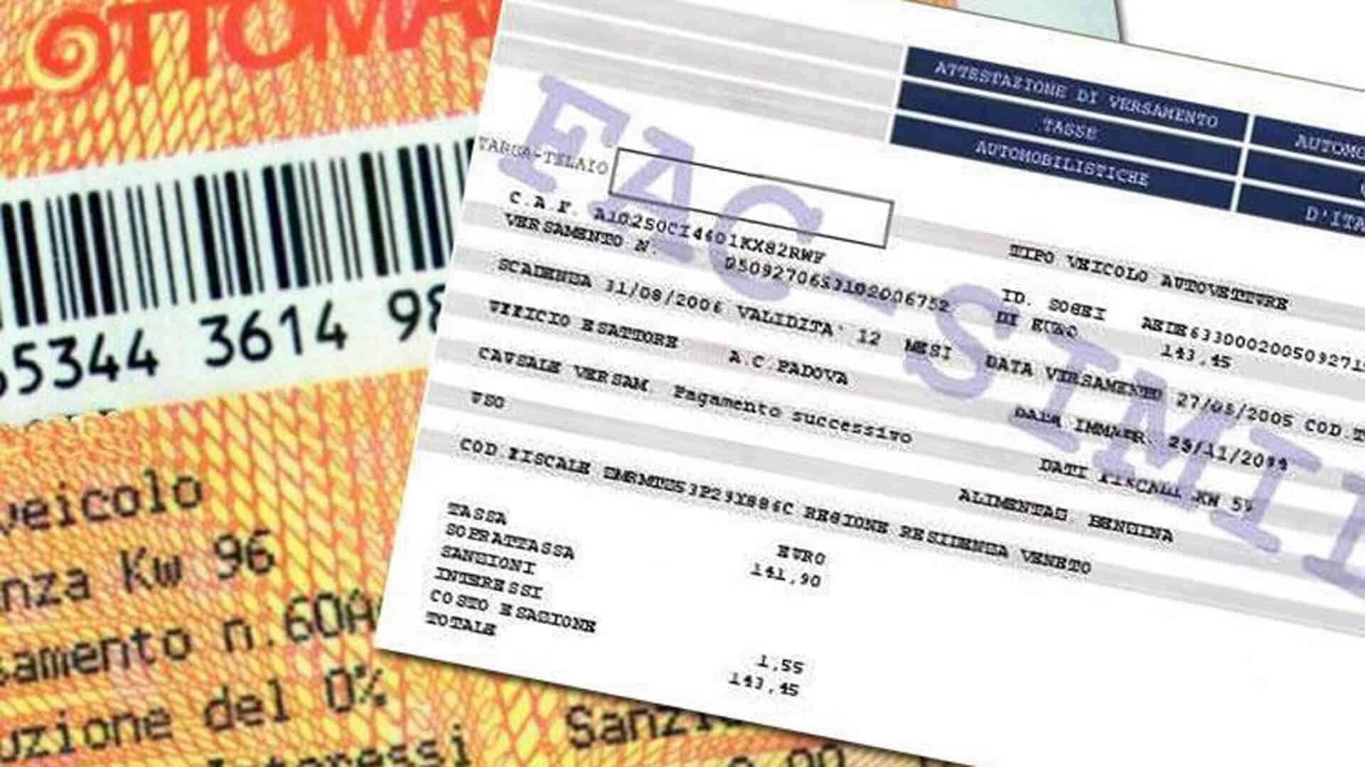 Bollo auto non pagato? Sanzioni per pagamenti tardivi, radiazione veicolo e regole - ClubAlfa.it