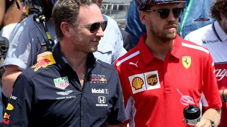 Vettel Horner