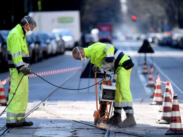 lavori strade milano