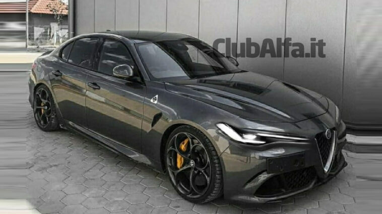 Alfa Giulia Restyling 2021