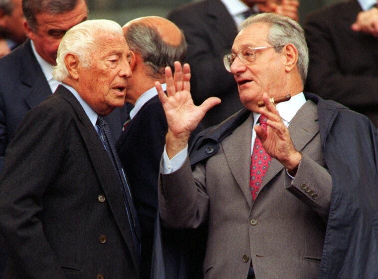 Gianni Agnelli e Cesare Romiti