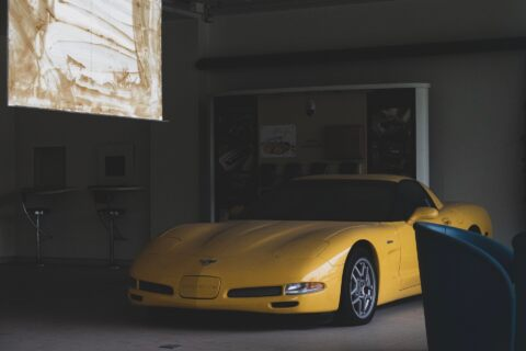 Chevrolet Corvette Z06 C5 abbandonata