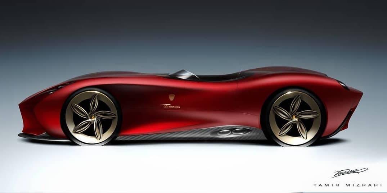 Ferrari 250 Testa Rossa tributo