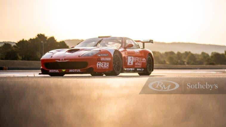 Ferrari 550 GT1 asta