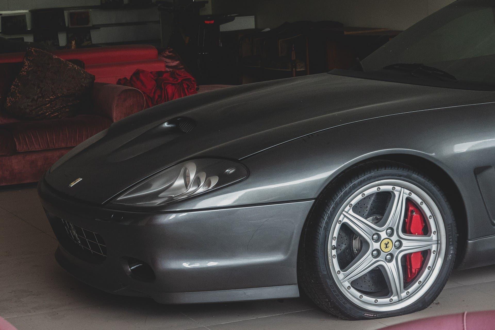 Ferrari 575 Superamerica abandonado