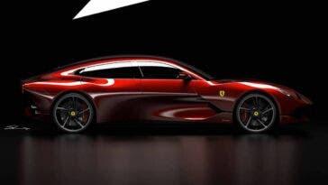 Ferrari GTC4 Grand Lusso render