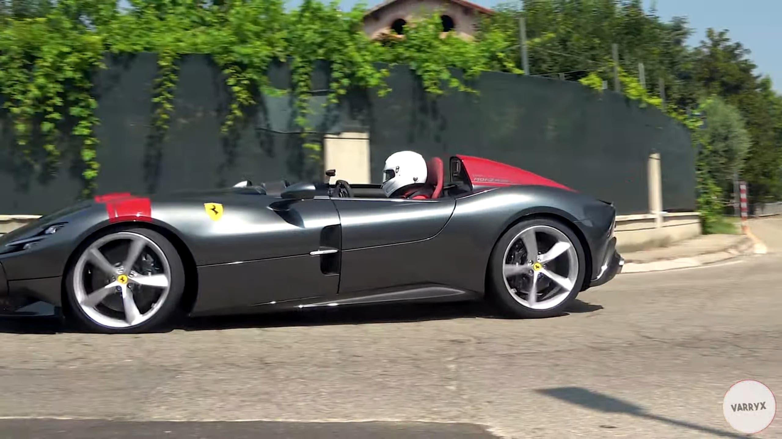 Ferrari Monza SP1 foto strada