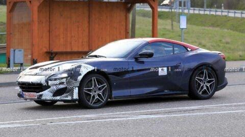 Ferrari Portofino 2021 foto spia