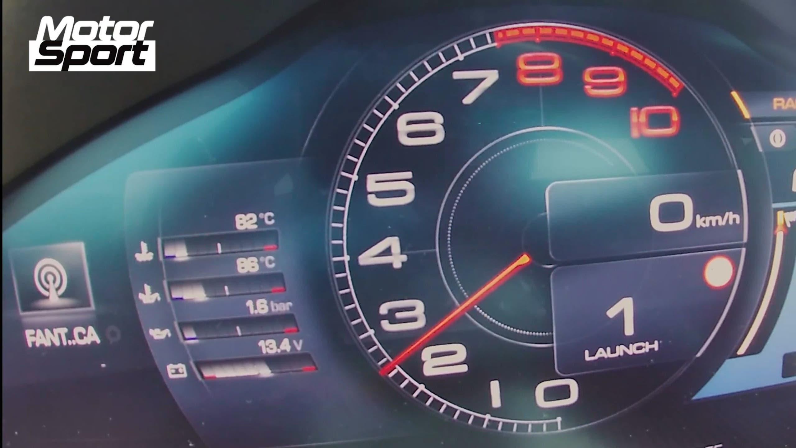 Ferrari Roma 200 km/h