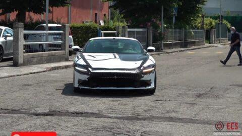 Ferrari Roma prototipi Maranello