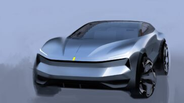 Ferrari hyper SUV elettrico