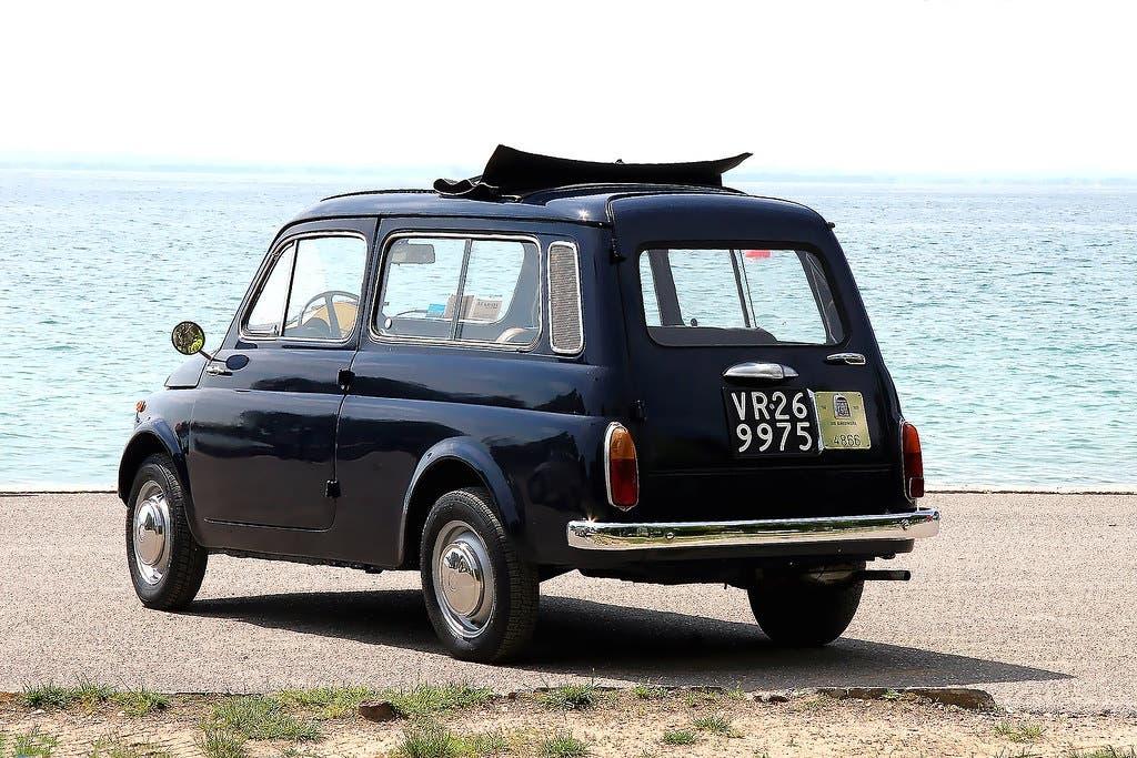 Fiat 500 Giardiniera 60 anni