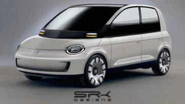 Fiat Multipla 2021 render