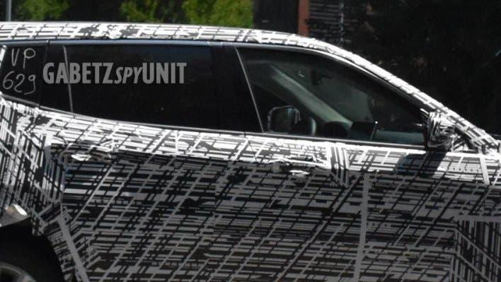 Jeep Compass 2022 prototipo foto spia