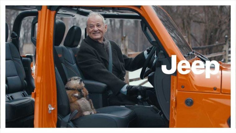 Jeep - Groundhog Day - Bill Murray