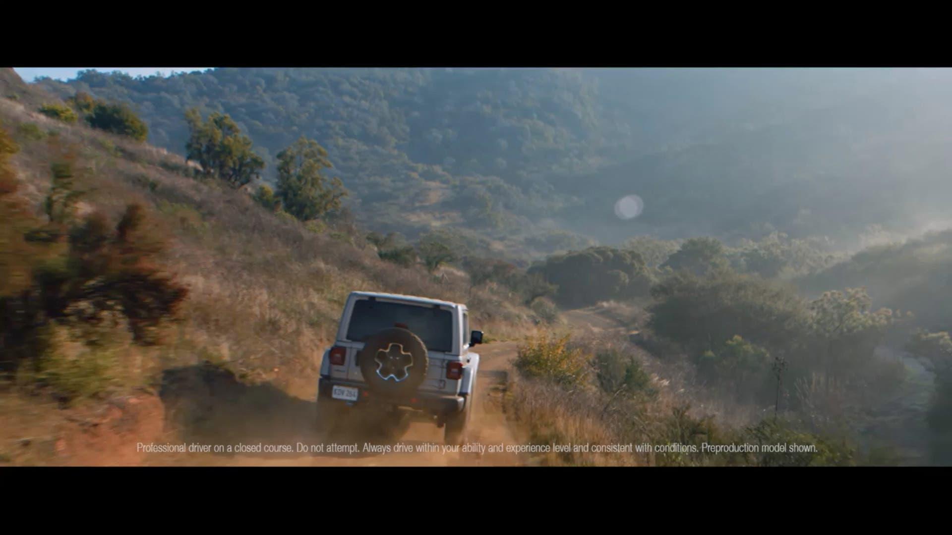 Jeep Wrangler 4xe ultimo teaser