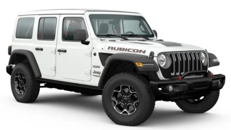 Jeep Wrangler Rubicon Recon Australia