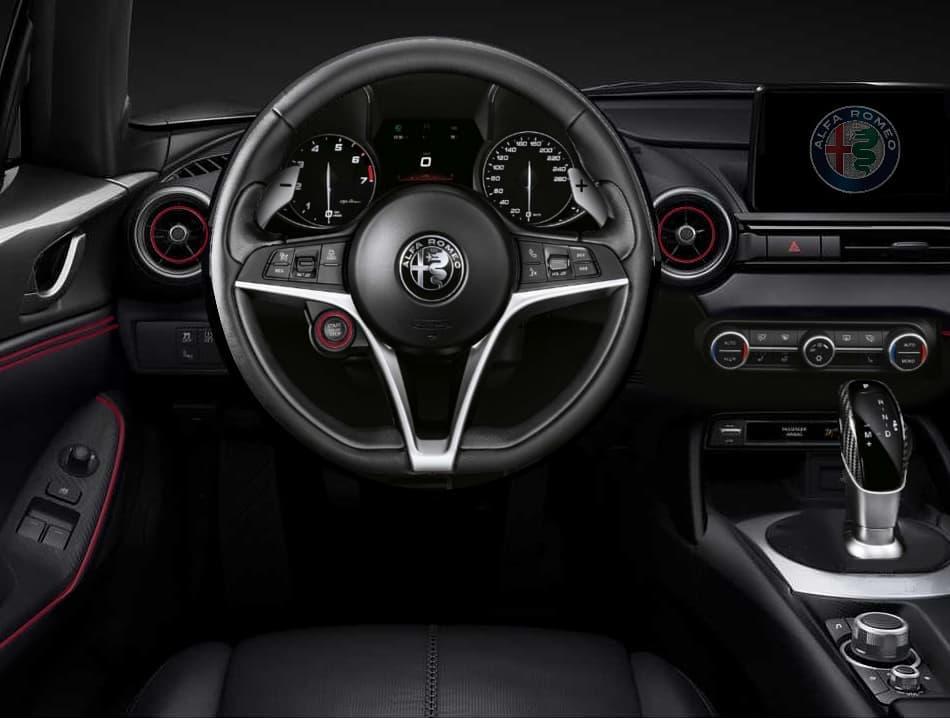 Mazda MX-5 Spyder Giulia render