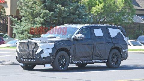 Nuova Jeep Grand Cherokee interni