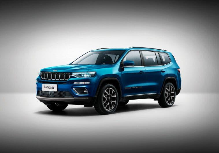 Nuova Jeep Grand Compass render